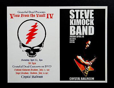 Grateful Dead Handbill View From The Vault IV Crystal Ballroom Portland Oregon