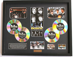 New The Beatles Signed Limited Edition Memorabilia Framed