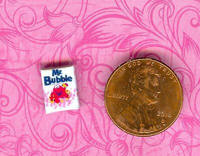 1/2 Half Inch Scale Dollhouse Miniature Bubble Bath box