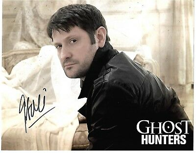 Grant Wilson autographed 8x10 photo COA GHOST HUNTERS