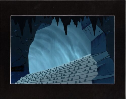 Samurai Jack hand-painted Animation Background Art Cartoon Network 2001 317