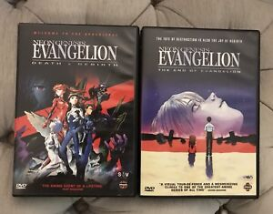 Evangelion DVD movies - End of/Death and Rebirth anime