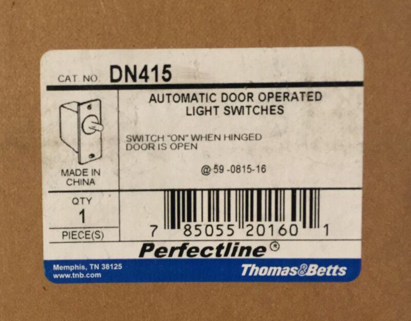 NEW THOMAS & BETTS Automatic Door Operated Light Switch DN415 125V NIB