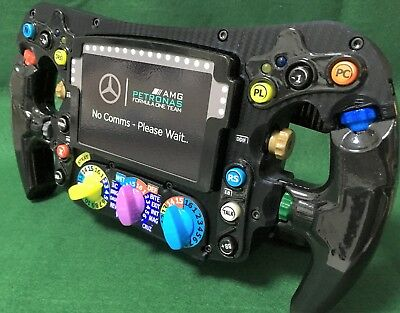 Lewis Hamilton FULL SIZE replica W09 steering wheel_F1_World Champion_Mercedes for sale  Shipping to United States