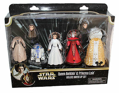Starwars Dress Up (Princess Leia Queen Amidala Deluxe Dress Up Set Disney Parks Star Wars Free)