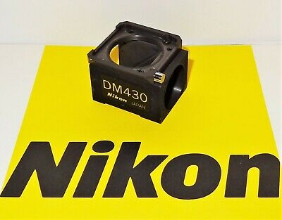 Nikon Dm430 Fluorescent Microscope Filter Block For Labophot Optiphot Tmd