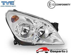 Holden Astra AH Series 2 2007.05~2010.03 Right  Head Light Chrome Dandenong Greater Dandenong Preview