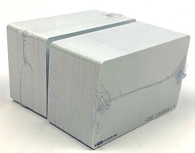 Hid Iclass Prox Card Printable Smart Card 3.38 Width X 2.13 Length - 100 Pcs