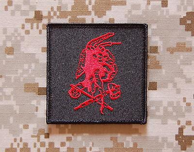 NSWDG Red Squadron Team Patch Black Version DEVGRU ST6 Red Team Bin Laden Raid
