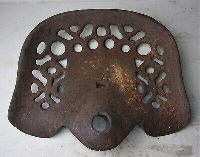 Antique Old Cast Iron Tractor Seat Farmhouse Decor Farm Implement Rust Patina