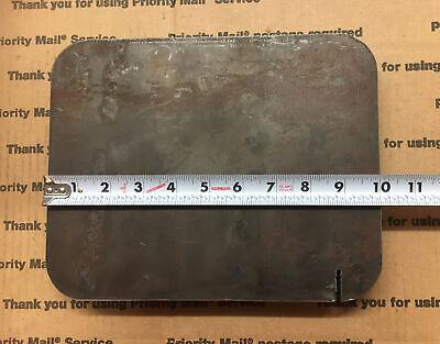 1 Steel Flat Target Plate Blacksmith Bench Welding Bracing 8 X 10