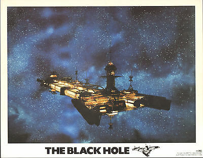 THE BLACK HOLE original 1979 DISNEY lobby card 11x14 movie poster