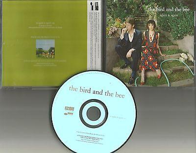 Geggy tah THE BIRD AND THE BEE Again & Again PROMO Radio DJ CD single 2007 USA