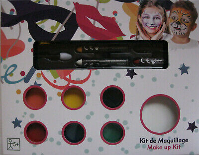 Schmink Set Kinder Schminke Halloween Fasching Schminkstifte Theaterschminke NEU