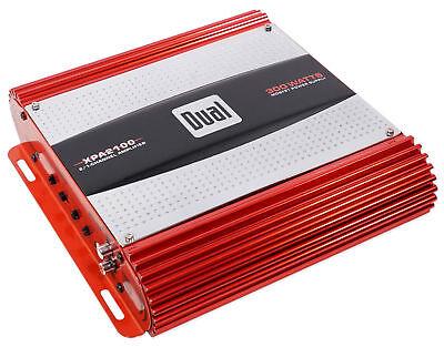 Dual Xpa2100 300 Watt 2 Channel Car Audio Amplifier Bridgeable 2 Ohm Mosfet Amp