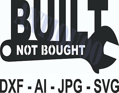 Dxf File Cnc Vector Dxf Plasma Router Laser Cut Dxf-cdr Files - Built Not Bought