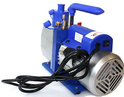 1 Stage 110v 7cfm 12 Hp Rotary Vane Deep Vacuum Pump