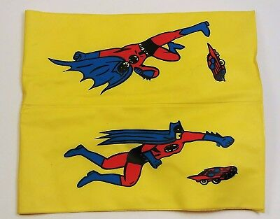 Vintage Knock-Off BATMAN Kids Water Wings AMAZING RED COSTUME ART 1960's - Amazing Batman Costume