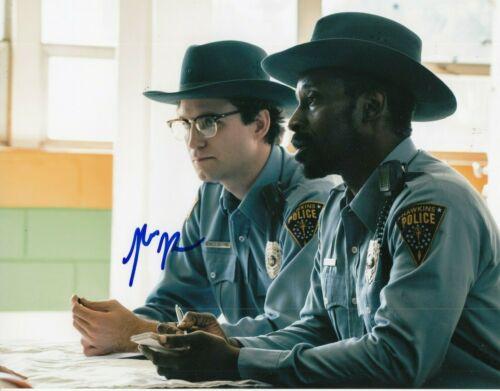JOHN REYNOLDS signed (STRANGER THINGS) 8X10 photo *OFFICER CALLAHAN* W/COA #4