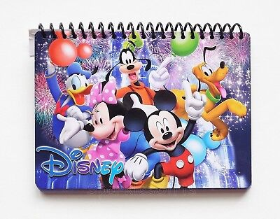 (Disney - Mickey & Gang - Mickey Minnie Donald Goofy Pluto Autograph Book 85134)
