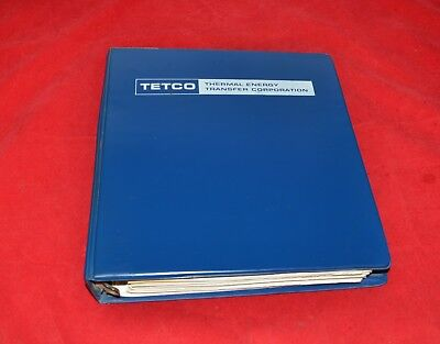 Tetco Thermal Energy Instruction Manual Geothermal Heat Hvac Ground Water Heat