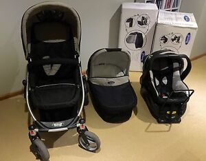 Steelcraft Cruiser Travel System - Pram, Capsule and Bassinet Lindisfarne Clarence Area Preview
