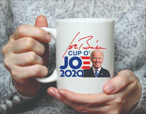1 JOE BIDEN COFFEE CUP - COFFEE MUG FULL COLOR WRAP - CUP OF JOE  FREE SHIPPING