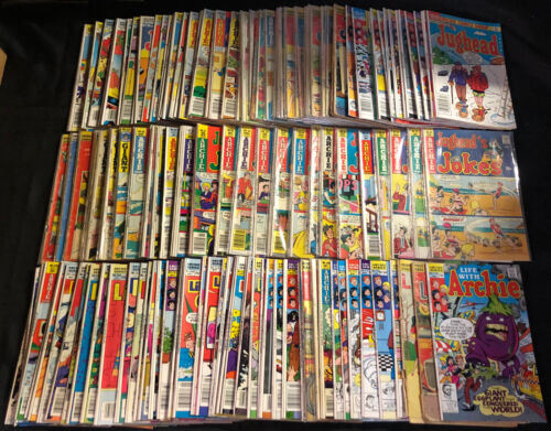 ARCHIE COMICS SILER-COPPER AGE MIXED TITLES COMIC LOT 231PC (GOOD-VF)