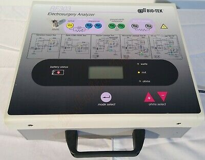 Bio-tek Rf303 Electrosurgery Analyzer