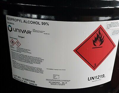 Isopropyl Alcohol 99% technical grade - 1 Gallon bottle