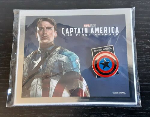 NEW Disney Movie Club Exclusive VIP PIN Marvel CAPTAIN AMERICA The First Avenger