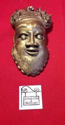 Bronze Mask African Decorative - REF33461