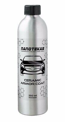 Nano Car Body Paint Protection Ceramic Armor Coat   Nano Towel 100  Bq 250Ml