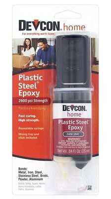 Devcon 62345 Plastic Steel Epoxy 1 Oz.