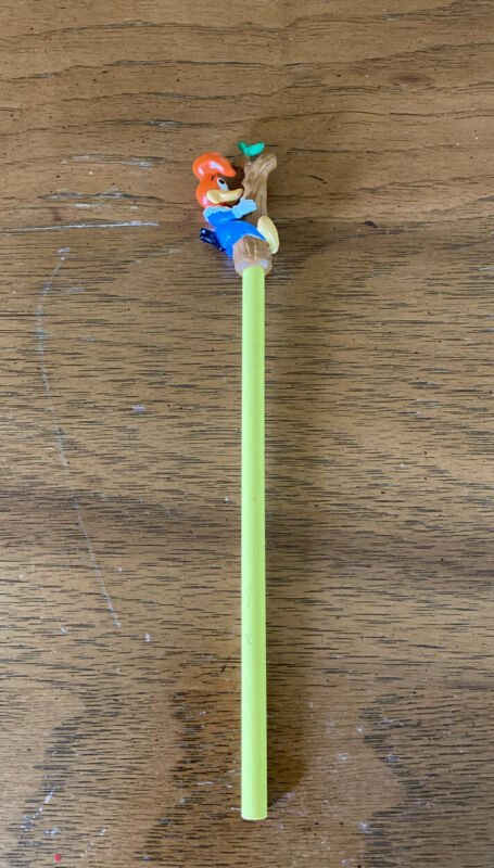 Woody Woodpecker Pencil Topper! Unused! Rare Collectible!
