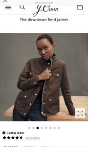 Jcrew The downtown field jacket