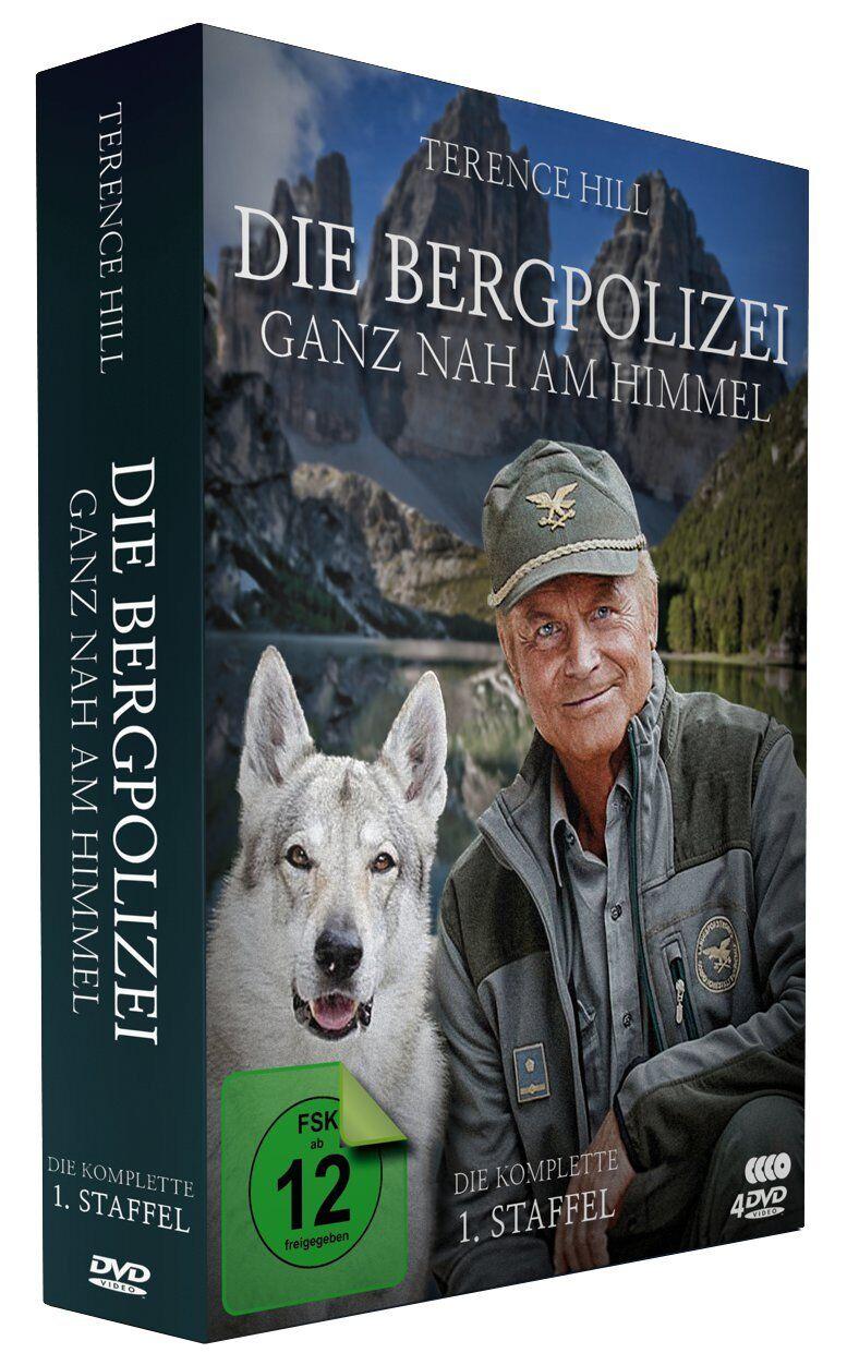 Die Bergpolizei - Ganz nah am Himmel - 1. Staffel (1-12) - Terence Hill [4 DVDs]