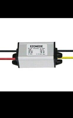 Waterproof Dc Buck Converter Voltage Regulator 8-40v To 3.3-24v 5v 12v 3a Peak