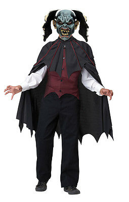 Vampire Count Dracula Blood Thirsty Child Halloween Costume  - Count Dracula Costumes