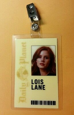 Superman Smallville ID Badge-Daily Planet Lois Lane Reporter prop cosplay