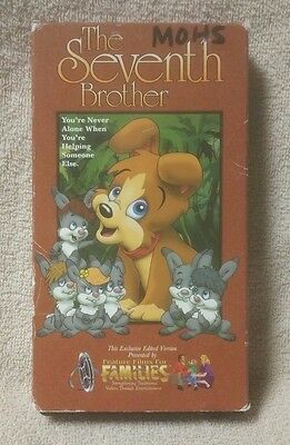 The Seventh Brother Animated Feature Films For Families Tiny The Puppy Vhs Video