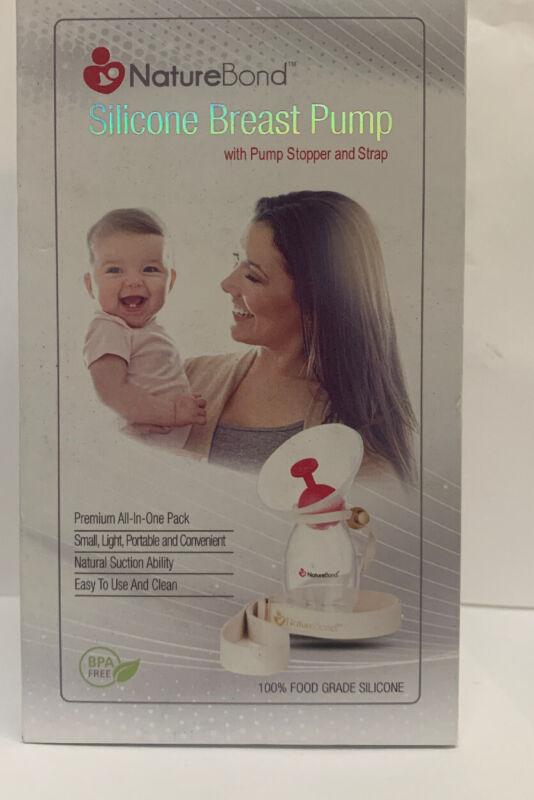 Nature Bond Silicone Manual Breast Pump Breastfeeding - USED CONDITION