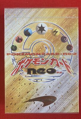 Pokémon Japanese Neo Genesis sealed starter Deck hot Item