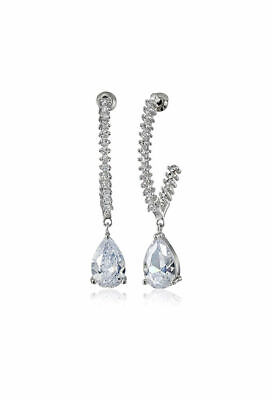 CZ by Kenneth Jay Lane Trend Round Drop Earrings NEW