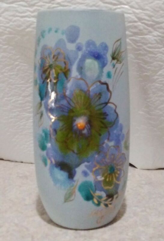 Modernist Art Pottery Vase Signed by Sascha Brastoff  circa 1950s