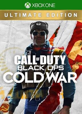 CALL OF DUTY BLACK OPS COLD WAR ULTIMATE EDITON XBOX ONE/SERIES S/SERIES X