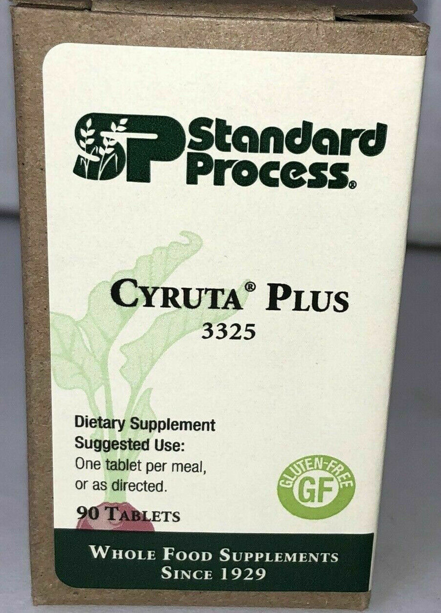 Standard Process CYRUTA PLUS 90T * Exp 04/ 2022 * SHIP OUT FREE WITHIN 24 HOURS!