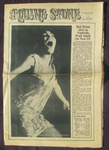 ROLLING STONE MAGAZINE TINA TURNER SECOND ISSUE! VOL. 1 NO. 2 NOV. 23, 1967