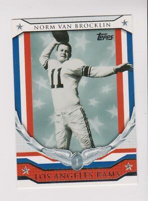 2008 Topps Honor Roll #HR-NB Norm Van Brocklin card, Los Angeles Rams HOF comprar usado  Enviando para Brazil
