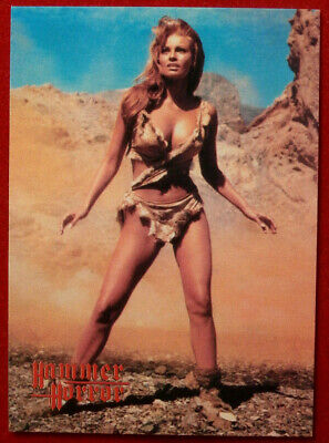 HAMMER HORROR - Series 2 - Card #113 - One Million Years BC - Raquel Welch